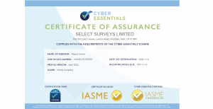 Cyber Essentials Certificate of Assurance